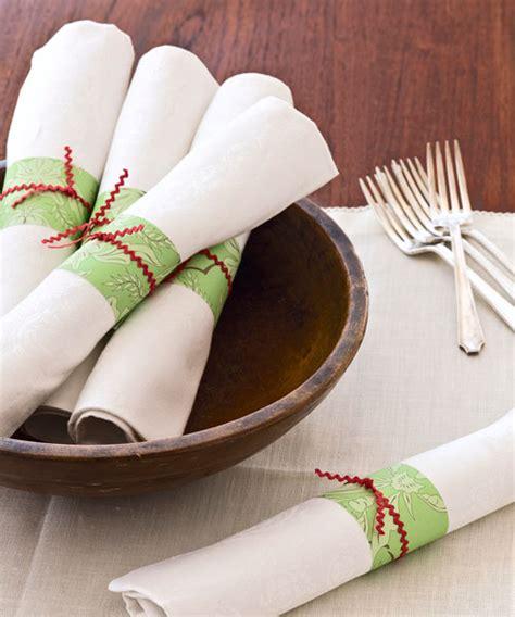 Make Paper Napkin Rings - napkin rings napkin rings
