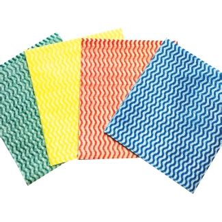 Cleaning Fabric by Mediumweight Coloured Cleaning Cloths 30x50cm Brosch Direct
