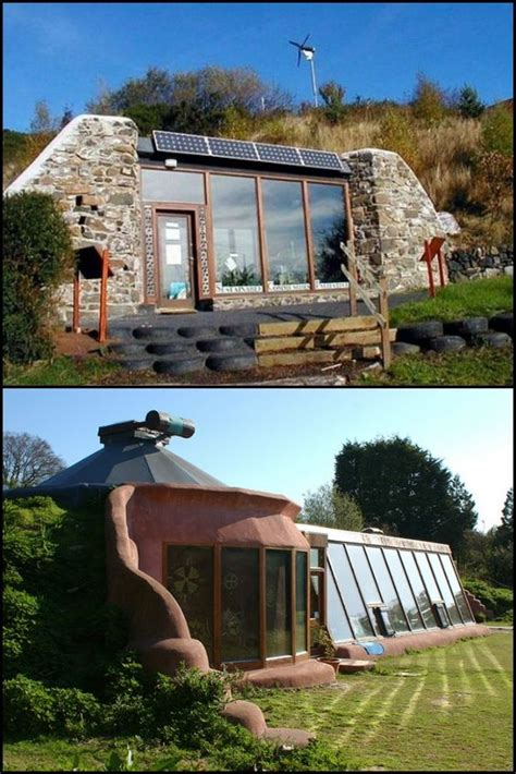 30 the grid and self sustaining earthship homes http