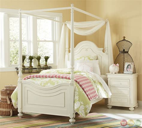 white wood twin bed charlotte traditional antique white poster canopy twin bed solid wood