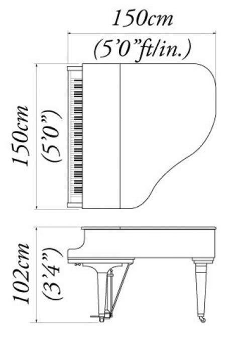 baby grand piano template baby grand piano template kawai gm 10 grand piano