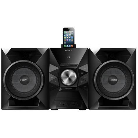 sony mhcec719ip shelf top audio system with ipod dock 470