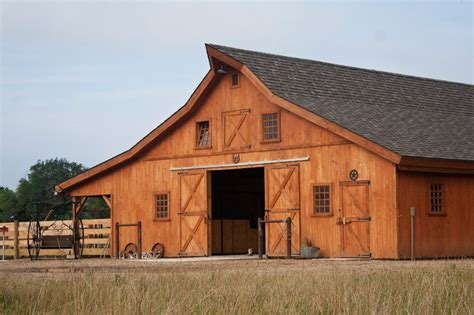 Traditional Barn Plans by Sd Barn Traditional Garage And Shed Other