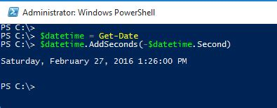 mysql date format without seconds powershell how to query date time without seconds