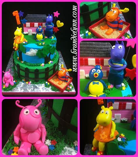 Backyardigans Cake Backyardigans Cake Cake Fondant Cakes