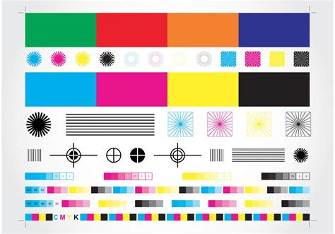color print cmyk chart free vector stock graphics images