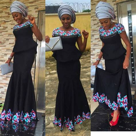 latest nigeria ankara style blouse and skirt latest ankara skirt and blouse styles in nigeria 2016 to