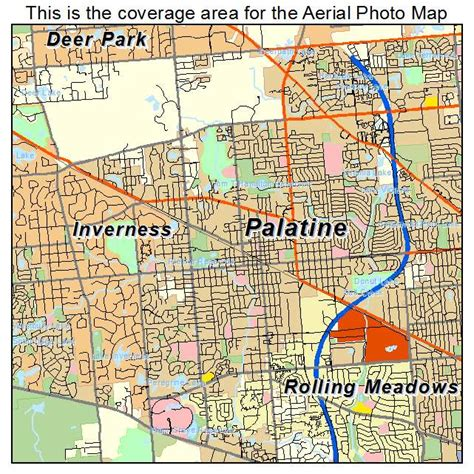 map of palatine illinois aerial photography map of palatine il illinois