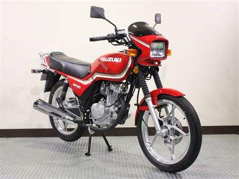 Suzuki Gs125 Suzuki Gs125 New Bike Km Details Japanese