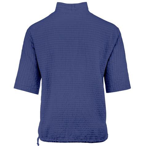 Cotton Lab Essential Hoodie Zipper Sapphire mirage cotton half zip top 100 cotton sapphire justsweatshirts