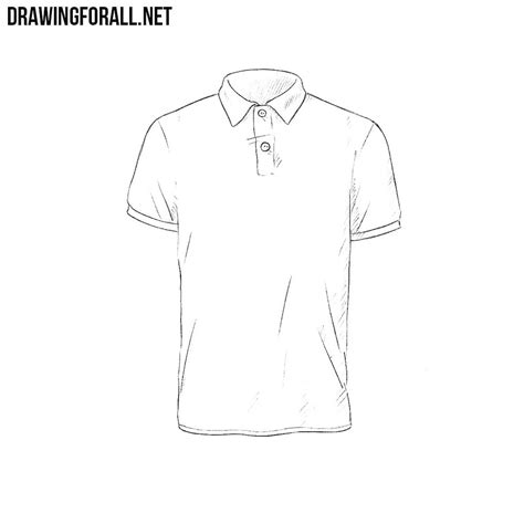 How To Draw A Drawingforall by How To Draw A Polo Shirt Drawingforall Net