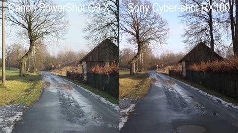 stabilization comparison canon    sony rx youtube