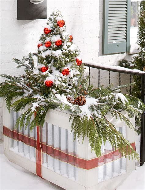 winter container garden ideas outdoortheme com