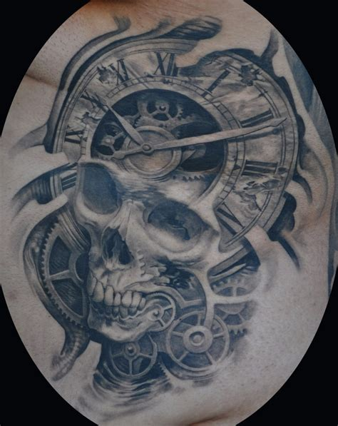 gear head tattoos designs josh duffy blackcastleart