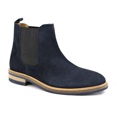 chelsea boots buy mens designer navy suede chelsea boots gucinari