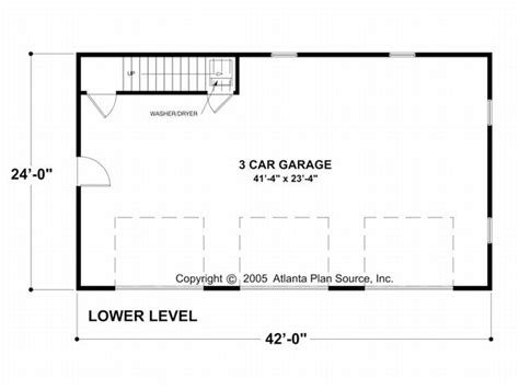 garage door floor plan carriage house plans craftsman style carriage house with