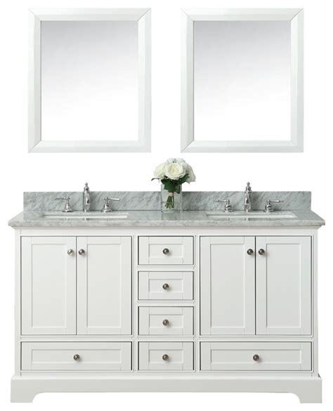 transitional bathroom vanity audrey bath vanity set white transitional bathroom