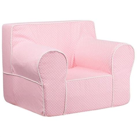 White Oversized Chair Flash Furniture Oversized Chair With Pink Dots And