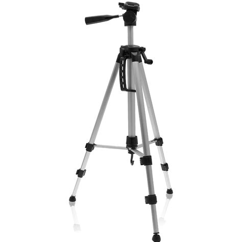 Tripod Camcorder igadgitz 140cm 55 quot 3 section extendable lightweight aluminium portable tripod for and