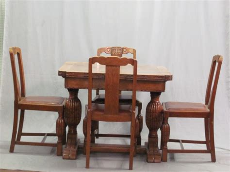 antique table ls 1930 1930 dining room furniture deco dining table set rockford