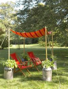 How To Make Outdoor Canopy by How To Make A Garden Canopy Diy Projects Bright Bold And