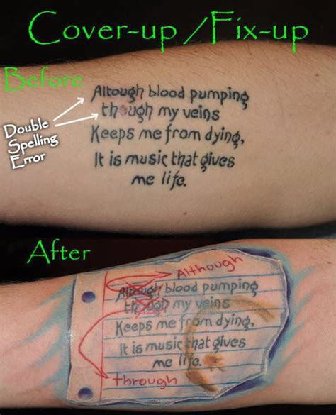 tattoo lettering mistakes dumpert nl spelfouten in je tattoo