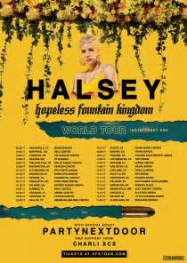 Concert Schedule Halsey Announces Hopeless Kingdom Tour Dates