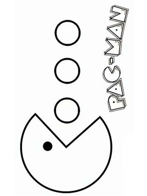 pacman coloring pages pacman coloring pages free printable pacman coloring pages