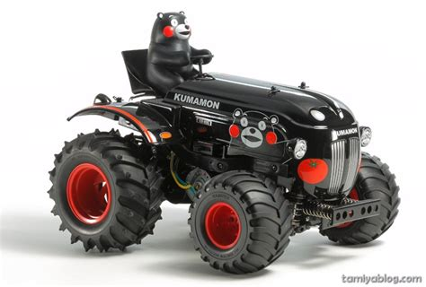 Tamiya 95281 Kumamon Mini 4wd Supporting Kumamoto 1 tamiya 58601 1 10 rc tractor kumamon version wr 02g