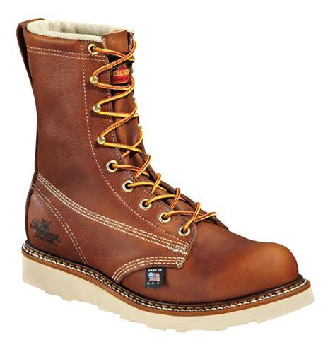 thorogood 514 4364 6 inch plain toe wedge boots