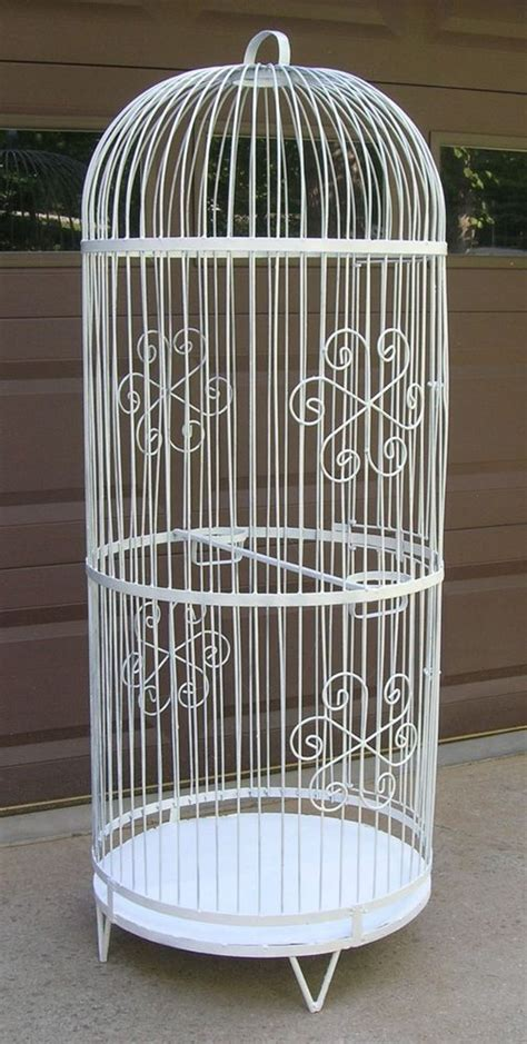 large cage vintage large 5 decorative thick steel wire bird cage birdcage