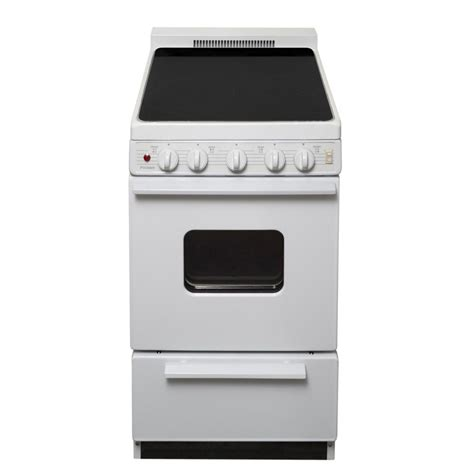 premier 20 in 2 42 cu ft freestanding smooth top