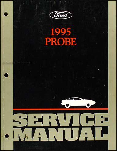 1995 ford probe repair shop manual original