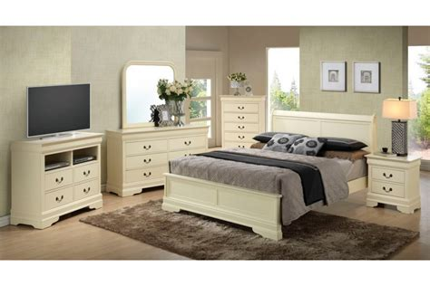 beige bedroom furniture bedroom sets dawson beige queen size platform look