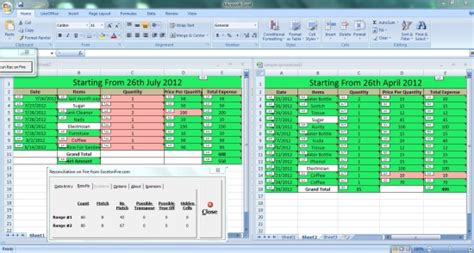 Excel Spreadsheet Comparison Tool by 4 Free Add Ins To Compare Excel Files