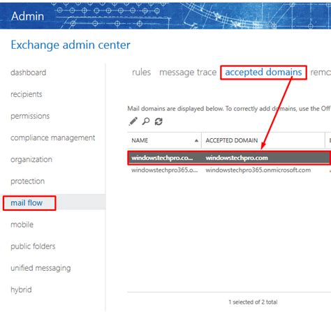 Office 365 Mail Select All How To Transition Smtp Mail Flow Service To Office 365