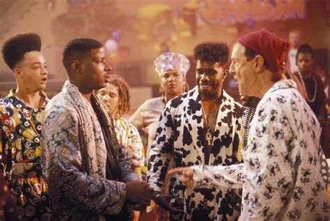 house party 2 pin still of tisha cbell martin and christopher reid in kid n play det vilda