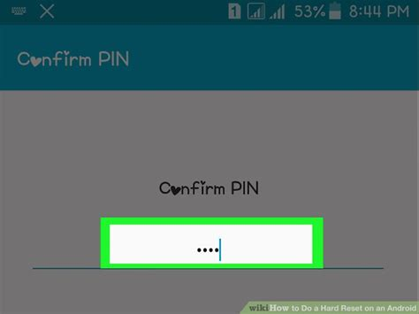 reset android version how to do a hard reset on an android 14 steps with pictures