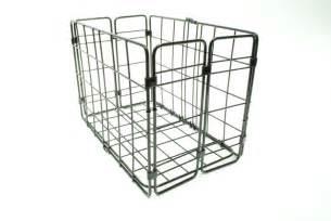 wald folding bike bicycle wire basket for rear rack ebay