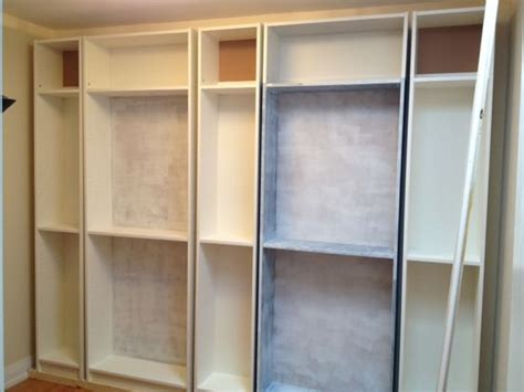 how to make billy bookshelves look built in crafty