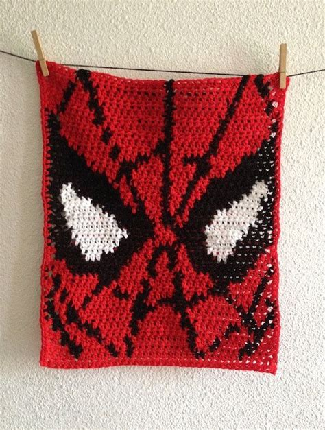 spiderman pattern crochet baby spiderman blanket crochet spiderman security blanket