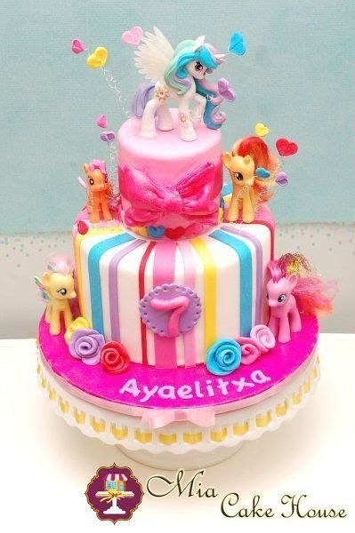 Pony Birthday Cake my pony cake pinteres