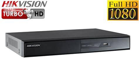 Dvr Hikvison Turbo Hd 4chanel Ds 7204hghi Sh 4chanel كاميرات مراقبة هيك فيجن شو بدك من فلسطين