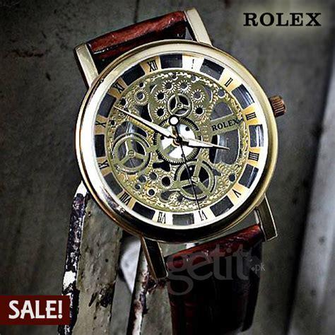 Rolex Skeleton Leather 1 rolex skeleton rxtm 084 getit pk