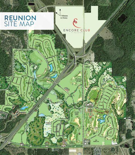 map of reunion florida encore club at reunion orlando fl new homes for sale