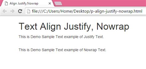 html tutorial justify text image gallery html align justify
