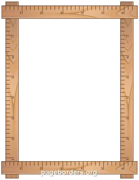 Printable Ruler Ms Word | printable ruler border use the border in microsoft word