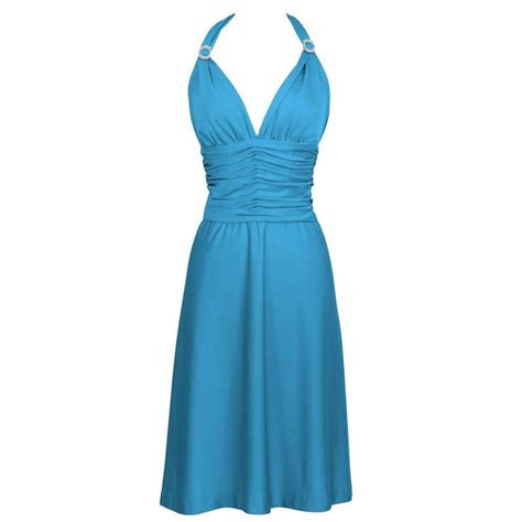 Trend Alert Turquoise Dresses For Fall by 1980 S Loris Azzaro Turquoise Halter Dress For Sale At 1stdibs