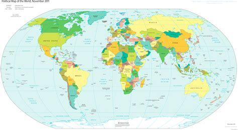 world large detailed political map large detailed