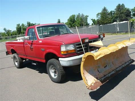 how do i learn about cars 1992 ford econoline e350 head up display find used 1992 ford f 350 xl regular cab 4x4 8 fisher minute mount 1 plow w foil in east